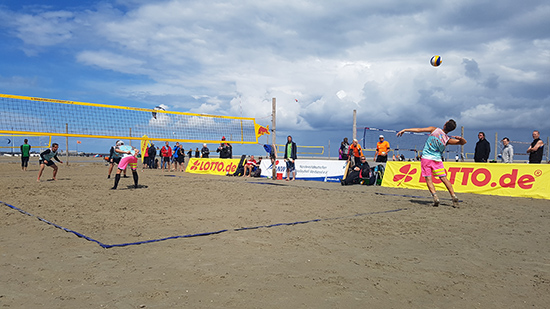 Beachvolleyball Lotto