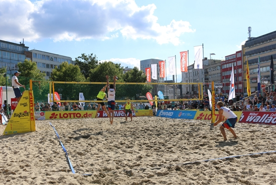 Lotto Beachvolleyballfinal 2018 Groß